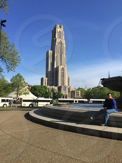 Cathedral of Learning in Oakland Pittsburgh PA photo