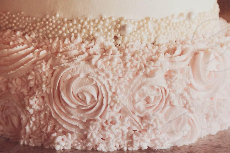 Cake baking sweets dessert sugar food icing photo