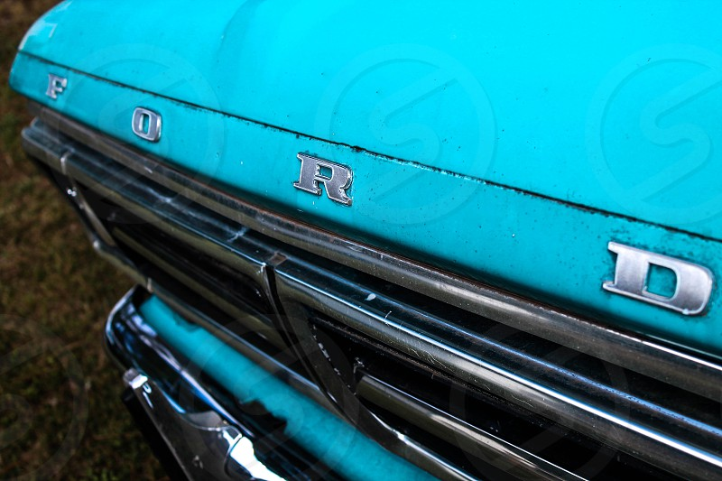 teal Ford F-Series photo