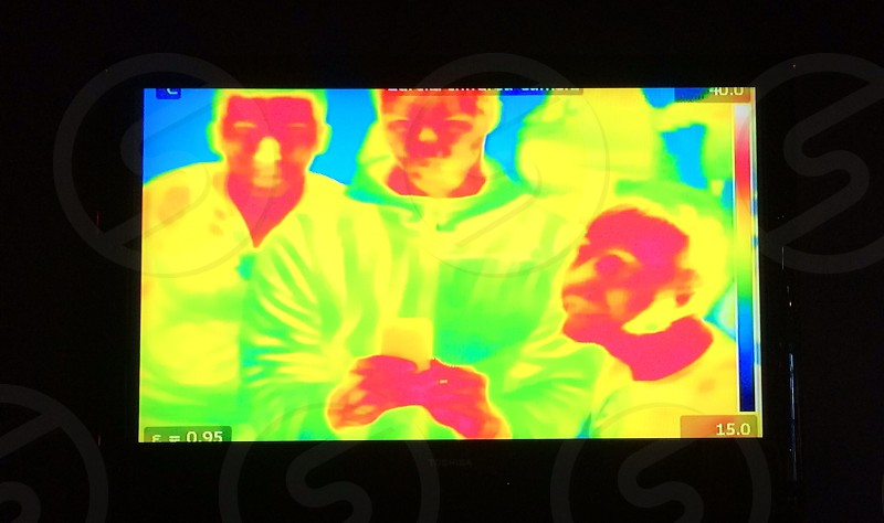 thermal cam photo