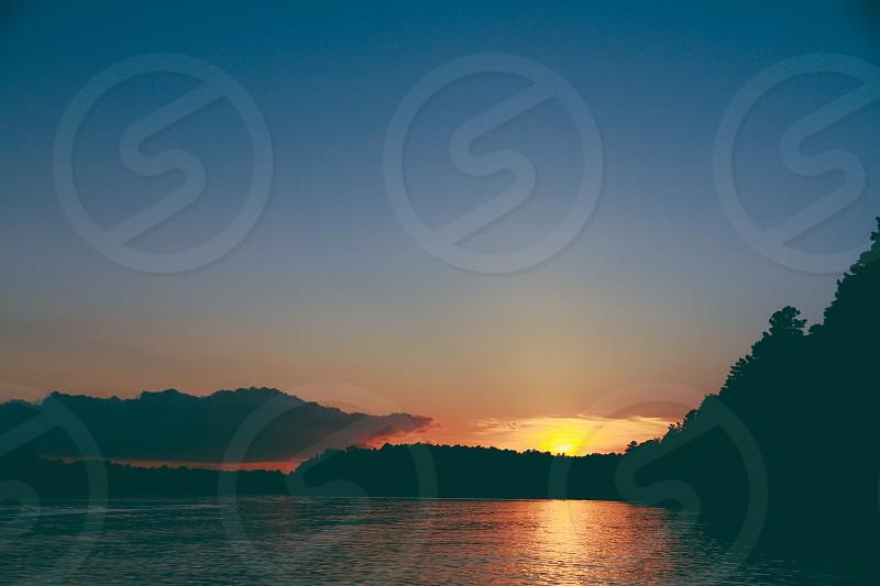 Sun over the Lake photo