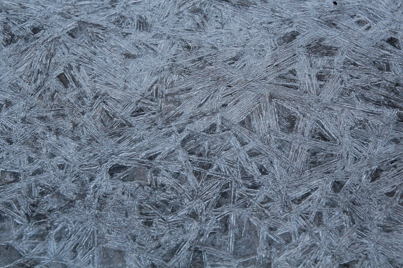 ice cold ice crystals photo