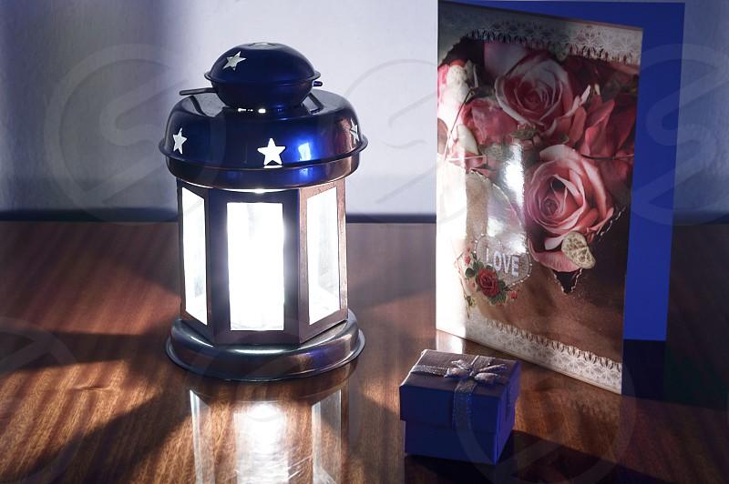 Romantic surprise for Valentine Day photo