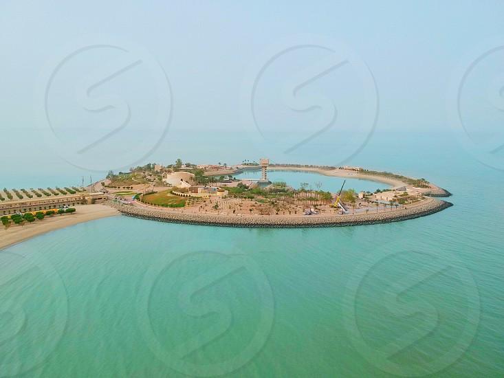 Green Island Kuwait Kuwait City beach resort Middle East  photo