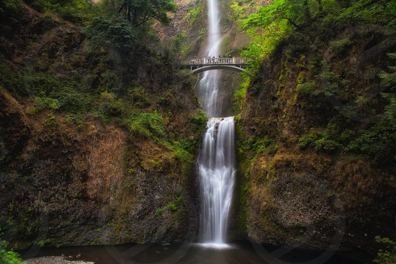 Multnomah Falls in Portland OR photo