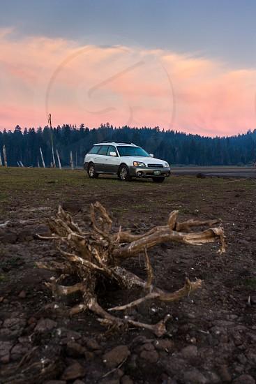 Travel Oregon Lake Camp Sunsets Subaru photo