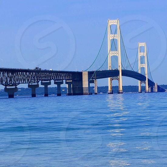 Mackinac Bridge Michigan photo