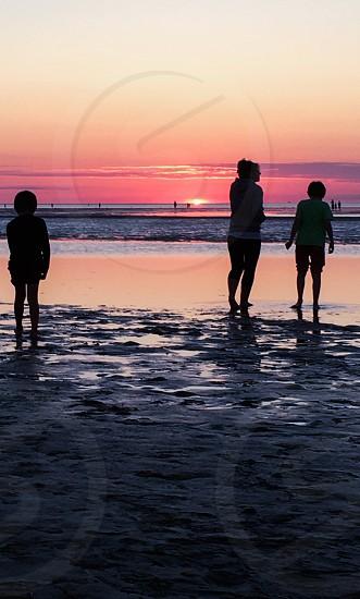 Adventures; landscape; seascape; silhouettes; sunset photo