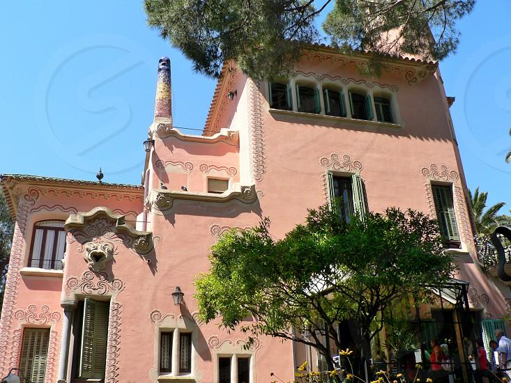 Gaudi Haus Museum Barcelona Spain photo