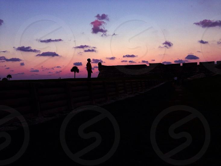 Sunset St. Augustine  photo