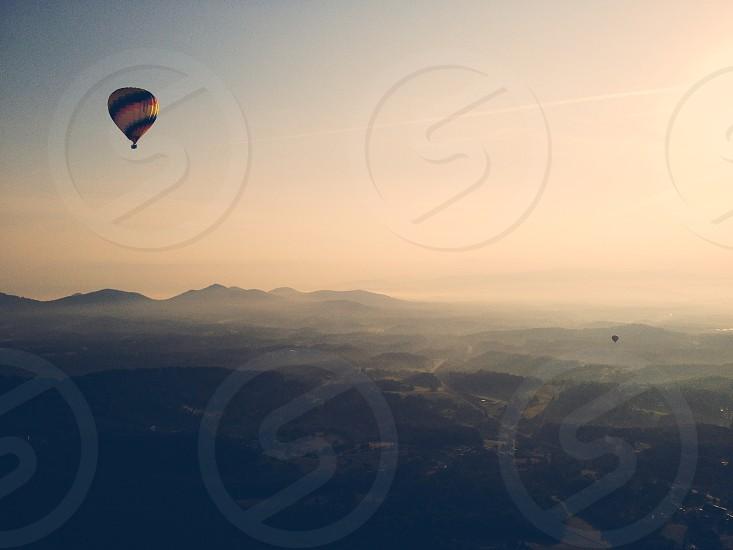 Hot air ballooning in Asheville North Carolina photo