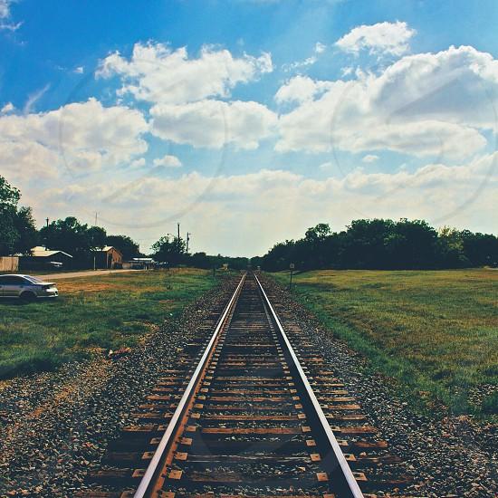 train railway photograph photo