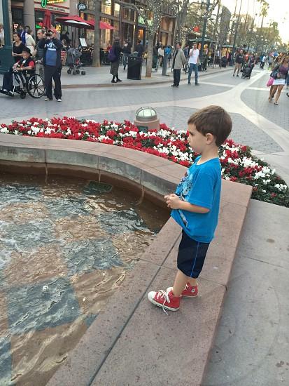 Making a wish photo
