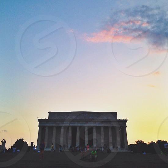 Lincoln Memorial Washington DC  photo