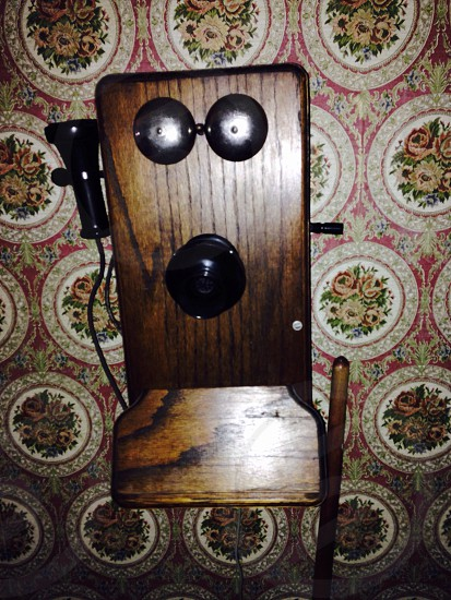 brown wooden device photo
