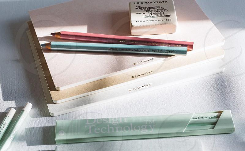 Pencil desk utensil write photo