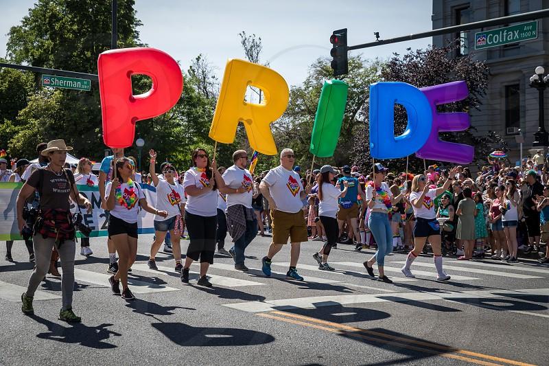 Pride parade impressions from Denver photo