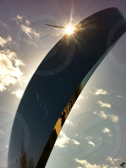 Sculpture aviation sun photo