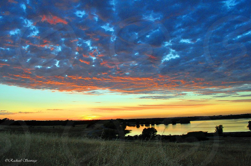 Summer time sunset  photo