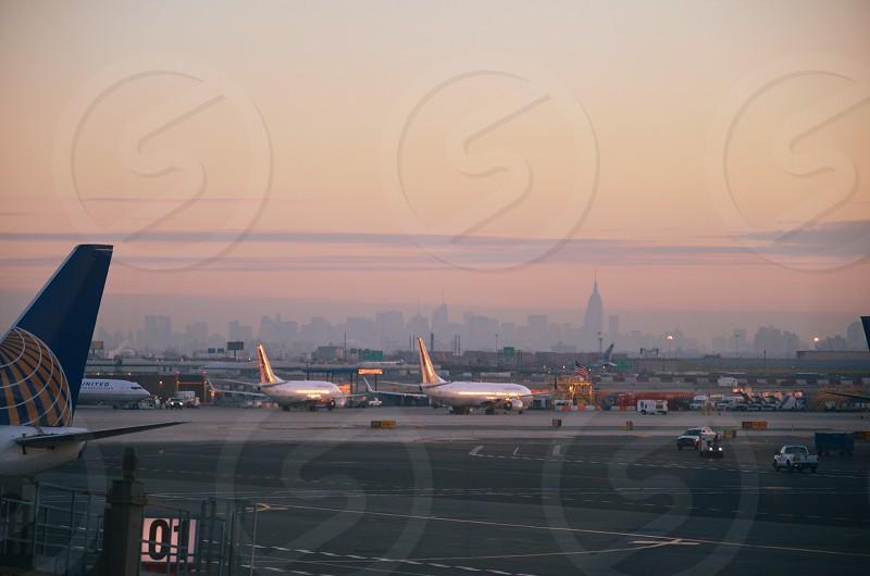 Departing from Newark; destinstion unknown... photo