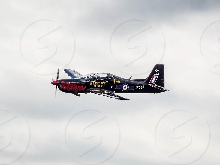 Tucano T. Mk 1 Flying over Biggin Hill Airfield photo