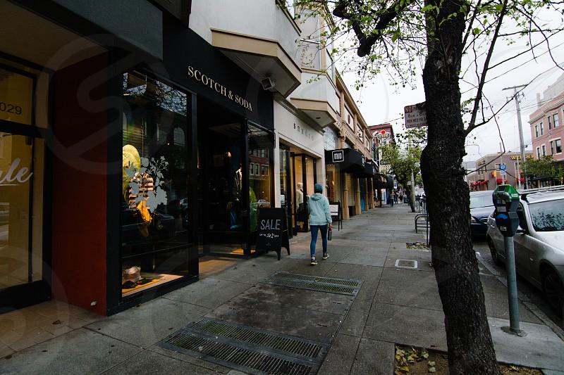 Fillmore Street shopping photo