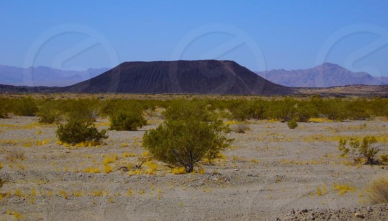 Amboy Crater California rule of thirds desert photo