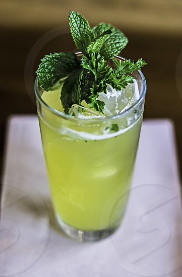 Mint and Lime Cocktail photo