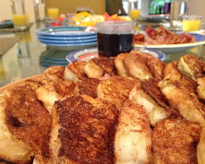 brown cinnamon bread photo