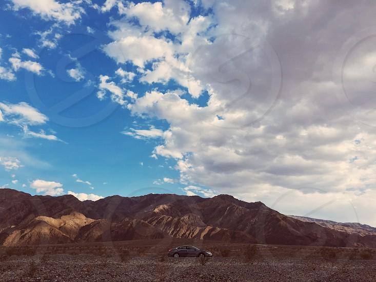 Rocky Mountain National park car photo