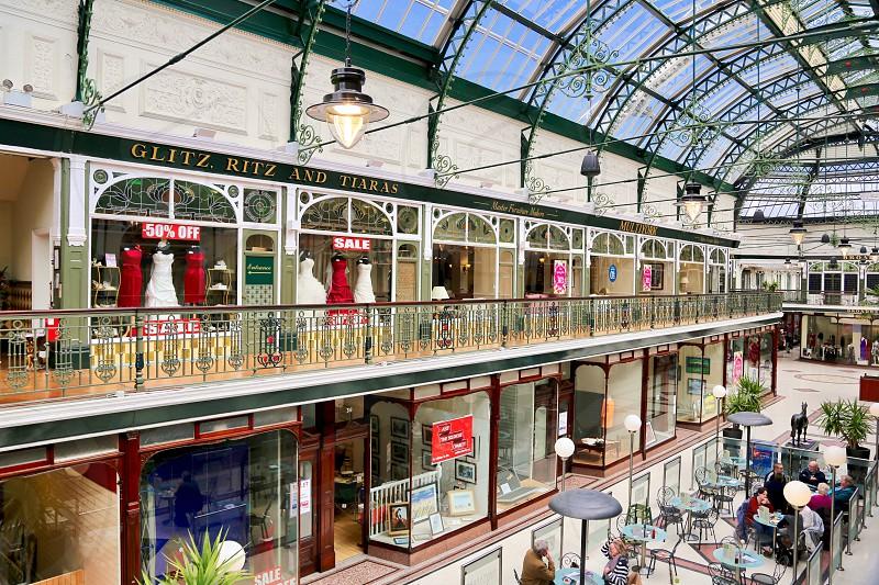 Old English Shopping Arcade photo