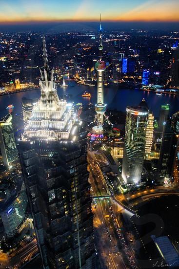 Shanghai tall buildings SWFC photo