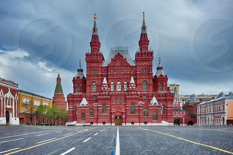 Early walk around Kremlin photo
