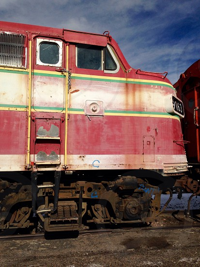 Old Carolina Southern train engine train Colorado  photo