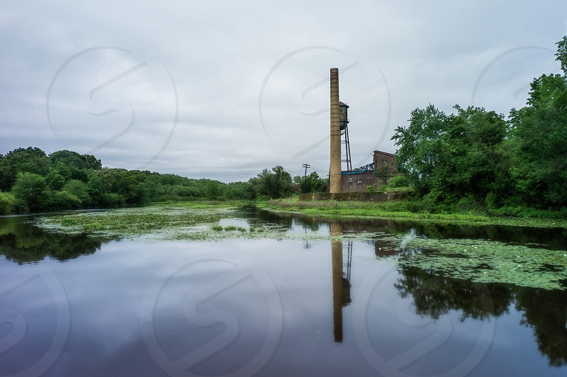 Old rubber mill photo