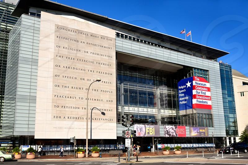 The Newseum in Washington DC. photo