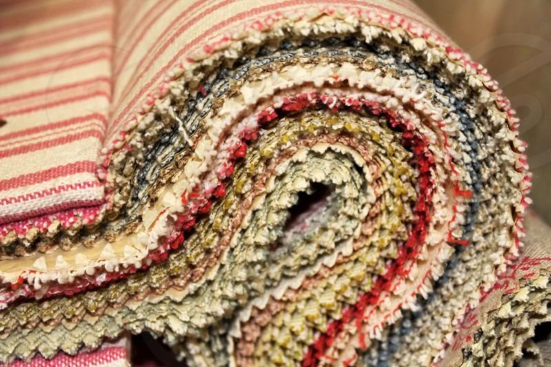Textile pattern book... photo