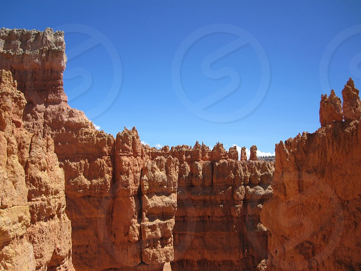 rock formation view  photo