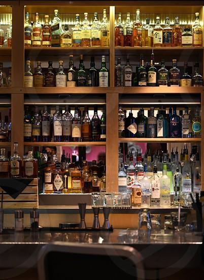 Happy hour cocktail bar photo