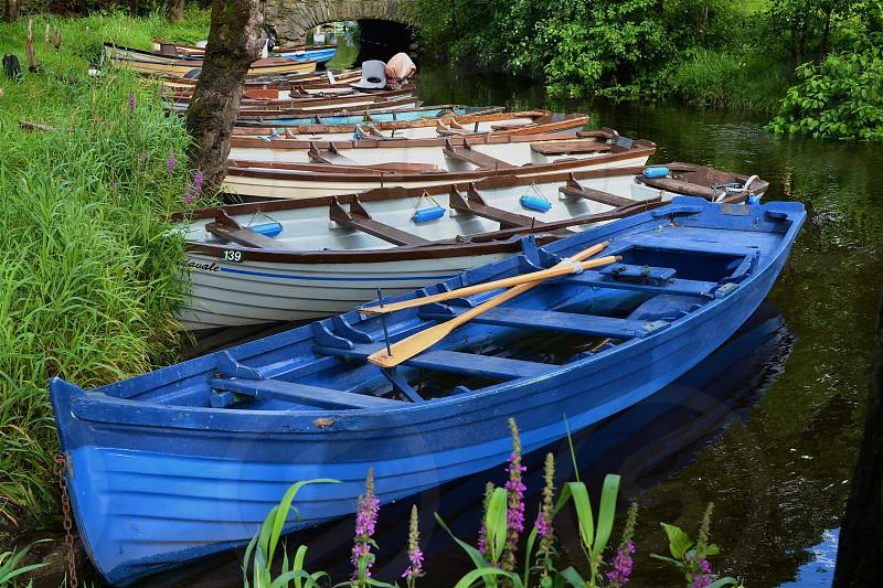 Row boats... photo