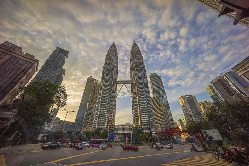 Sunrise at Kuala Lumpur city photo