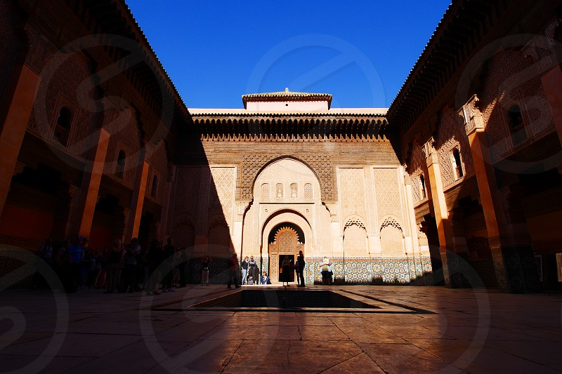 Ben Youssef Madrasa - Marrakesh photo
