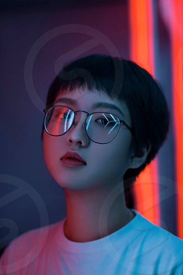 Neon Style Photography Collection: Photographed by @minhmigoi photo