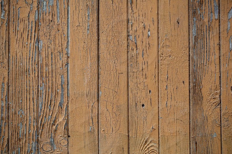 Macro shot of the brown wooden wall vintage background. photo