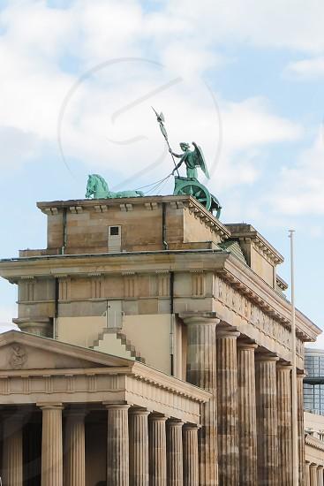 The Brandenburg Gate in Berlin Germany photo