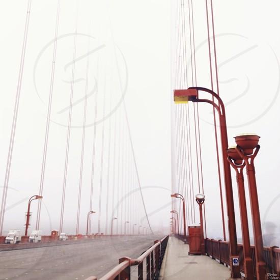 Bridge empty. photo