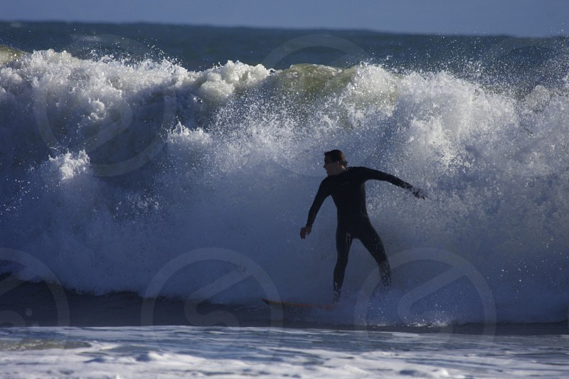 Surfer in Goleta CA photo