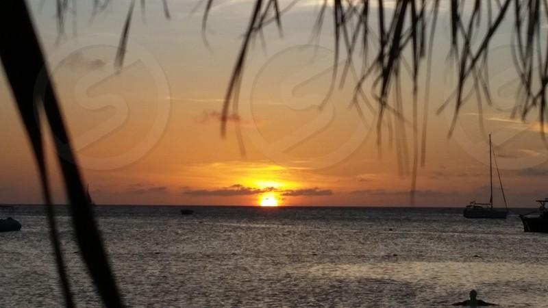 Aruba sunset photo