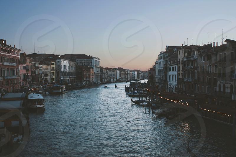 Venice at twilight photo