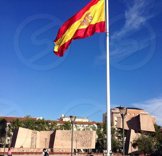 Spain flag photo
